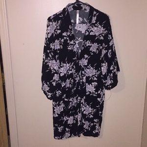 Spiritual gangster kimono robe